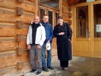 Przedstawiciele Komisji Fulbrighta w Zakopanem