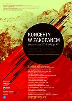 """""""Koncerty w Zakopanem"""" wiosna – lato 2014"""