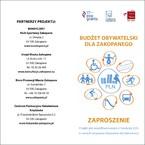 """""""Budżet Obywatelski dla Zakopanego – wybierzmy razem"""""""