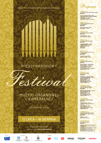 W lipcu Międzynarodowy Festiwal Muzyki Organowej i Kameralnej
