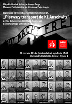 """Pierwszy transport do KL Auschwitz"""