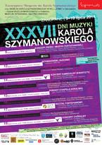 37. Dni Muzyki Karola Szymanowskiego