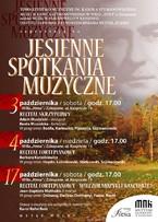 Recital skrzypcowy w ramach Jesiennych Spotkań Muzycznych w Atmie
