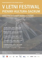 Letni Festiwal Pieniny-Kultura-Sacrum