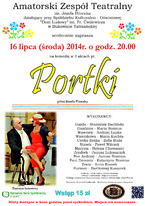 """Portki"" - sztuka teatralna"