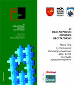 5 Ogólnopolski Konkurs Recytatorski – eliminacje powiatowe
