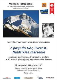 Everest – najdziksze marzenie…
