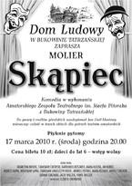 """Komedia """"Skąpiec"""""""
