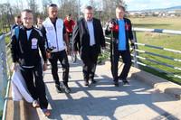 Mistrz nordic walking trenował nowotarżan