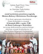 Zespół Polany nagrodzony