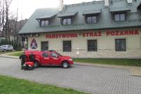 Nowy Samochód w KP PSP Zakopane