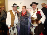 Marta Walczak-Stasiowska, Stanisław Pietras i Krzysztof Trebunia-Tutka laureatami medalu Zasłużony Kulturze Gloria Artis