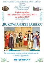 """""""Bukowiańskie Jasełka"""""""