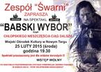 """""""Babski wybór"""""""