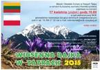 """""""Wiosenna bajka w Tatrach"""""""