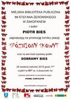 """""""Spóźniony skowyt"""" Piotra Biesa"""