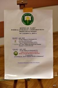 Podhalański Uniwersytet Trzeciego Wieku rozpoczął wakacje!