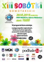 XIII SOBÓTKI NOWOTARSKIE