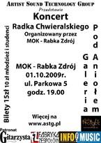 Koncert Radka Chwieralskiego