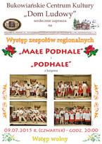"""""""Podhale"""" i """"Małe Podhale"""""""