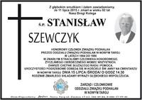 Zmarł Stanisław Szewczyk
