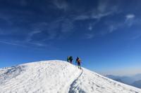 Biegiem na Mt Blanc