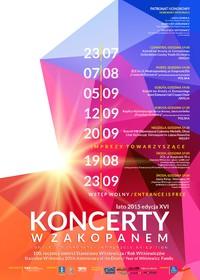 Letnie koncerty w Zakopanem