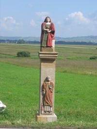 Odnowiona kapliczka św. Barbary