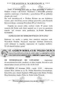 Polonia żegna Prezydenta Kaczorwskiego i ks. Bronisława Gostomskiego