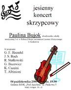 Jesienny koncert skrzypcowy
