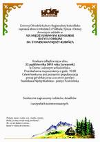 Konkurs Recytatorski im. Stanisława Nędzy-Kubińca