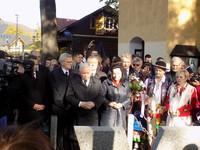 Jarosław Kaczyński w Krościenku
