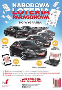 Weź udział w Narodowej Loterii Paragonowej