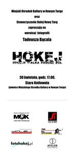Hokej – wystawa fotografii Tadeusza Bącala