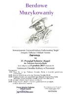 IV Przegląd Solistów i Kapel im. Tadeusza Szostaka Berdy