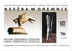 Rzeźba w drewnie - Michał Gąsienica Szostak, Karol Gąsienica Szostak