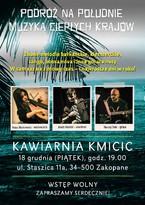 """Podróż na południe – muzyka ciepłych krajów w """"Kmicicu"""""""