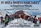 Msza Święta dla narciarzy na Kasprowym Wierchu