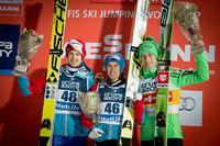 Austriacko-słoweńskie podium w Zakopanem