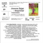 Wystawa Joanny Zając-Slapnicar