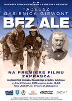 """""""Tadeusz Gąsienica Giewont. Bez Ale"""""""