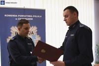 Minister wyróżnił zakopiańskiego policjanta