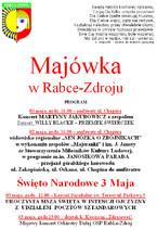 Majówka w Rabce-Zdroju