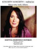 Martyna Jakubowicz z zespołem