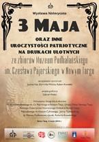 Wystawa historyczna 3 Maja