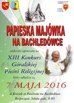 XIII Papieska Majówka na Bachledówce