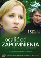 """""""Ocalić od zapomnienia"""" - spektakl inspirowany piosenkami Marka Grechuty w Kawiarni Kmicic."""