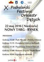 X Podhalański Festiwal Orkiestr Dętych