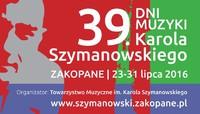 39. DNI MUZYKI Karola Szymanowskiego