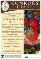 """Góralskie Słodkości 2016"""